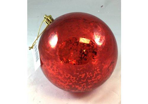 "Sullivans 4"" Mercury Red Ball Ornament"