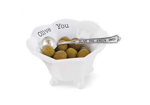 """""""OLIVE THE GREEN ONES"""" CONDIMENT CUP"""