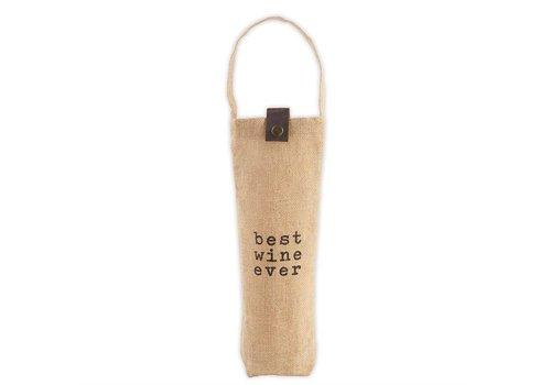 Best Wine Ever- Juco Wine Bag