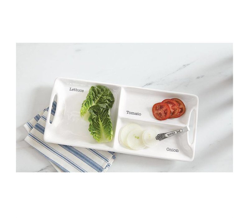 GARNISH BURGER SET (Lettuce, Tomato, Onion)