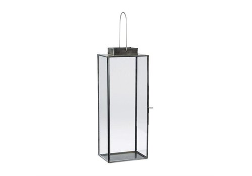 RECTANGLE GLASS LANTERN