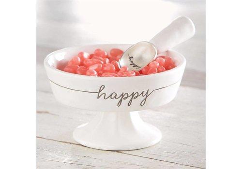 Happy Ceramic Candy Dish Set