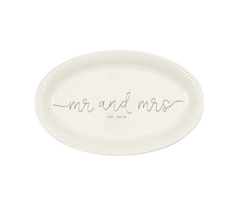 Mr. & Mrs. 2018 Platter