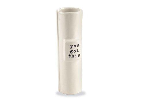 You Got This Stem Vase