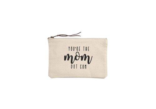 Mom Dot Com- Canvas Pouch