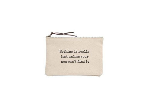 Can't Find It- Canvas Pouch