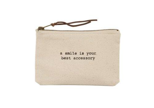 A Smile - Canvas Pouch
