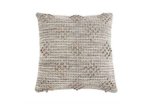 GREY DIAMOND PILLOW
