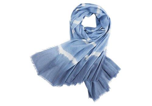 Tie Dye Scarf Blue