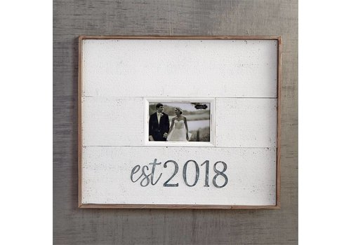 Tin Wood Est 2018 Frame
