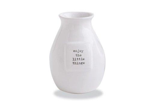 Enjoy Little Things Bud Vase