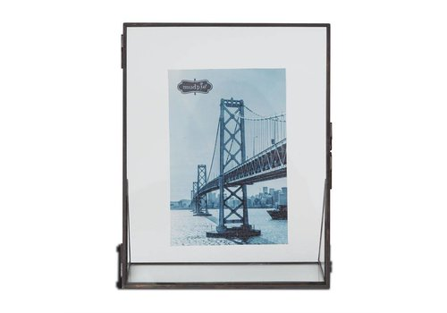 LARGE METAL GLASS FRAME
