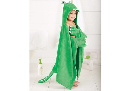 Gator Hooded Towel