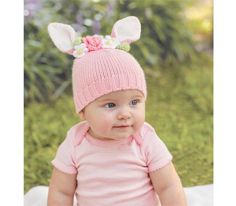 Bunny Flower Crown Hat