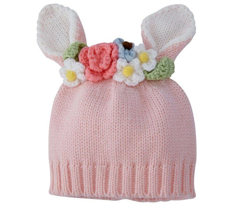 Bunny Flower Crown Hat