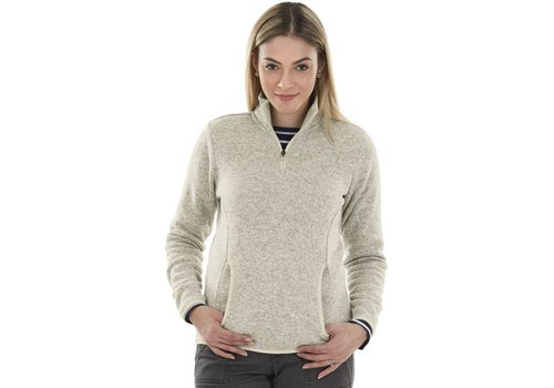 Charles River Apparel Oatmeal Heathered Fleece Pullover