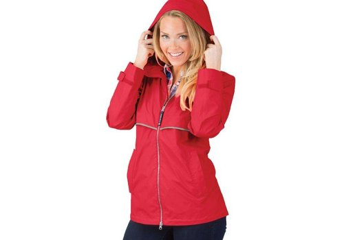Charles River Apparel Women's New Englander Raincoat (5 Colors)