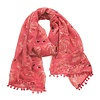Fancy Flamingo Scarf: Hot Pink