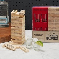 Shot Glass Stumbling Blocks Drinking Game
