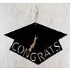D-Zines and Letters Congrats Grad Cap Sign