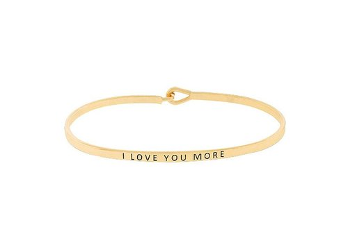 U.S. Jewelry House I Love You More-Bracelet