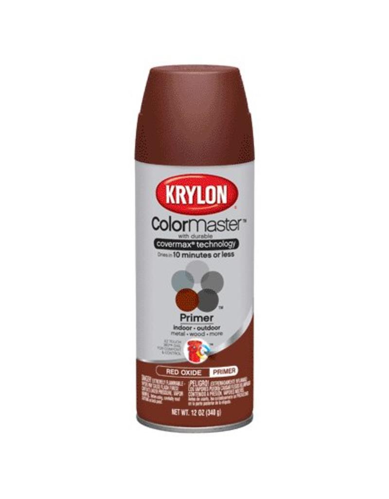 Krylon Paints 12 Oz Krlyon Red Oxide Primer Indoor Outdoor Spray Pn Aero K051317