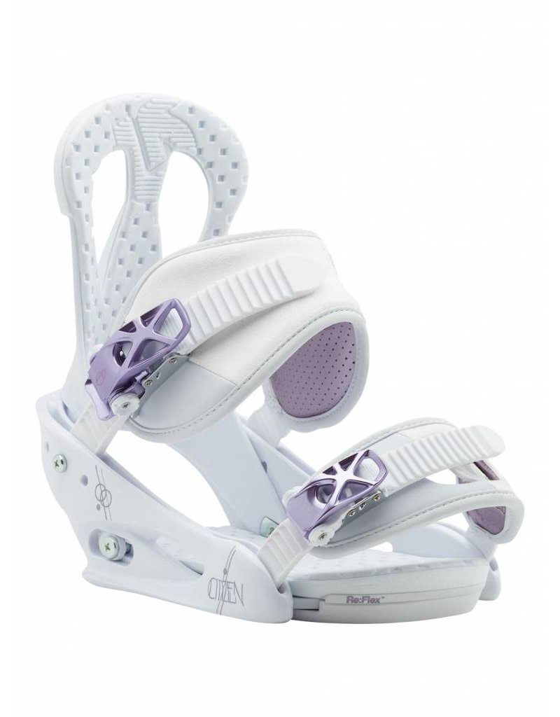 Burton BURTON CITIZEN WHITE/PURPLE 18
