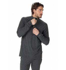 BURTON BURTON MB EXP 1/4 ZIP TRUE BLACK HEATHER 18