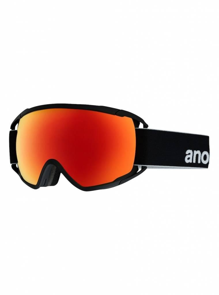 ANON ANON CIRCUIT BLACK/SONARRED 18