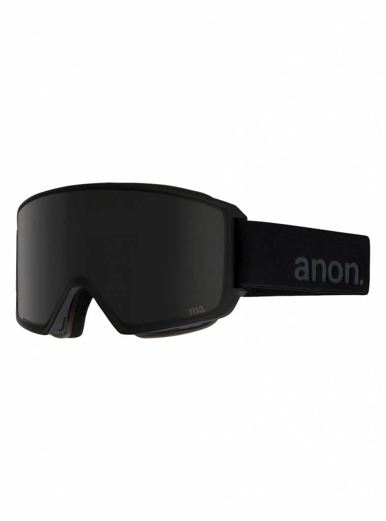 ANON ANON M3 W/SPR BLACK/DARK SMOKE 18