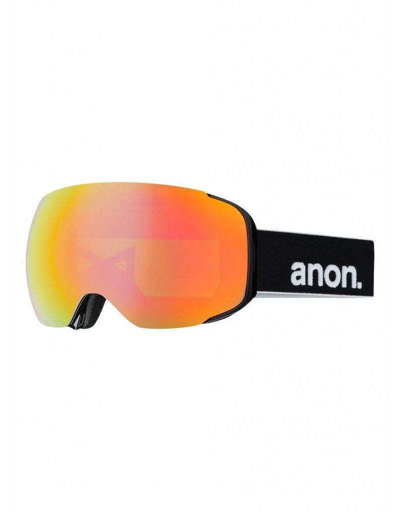 ANON ANON M2 W/SPR BLACK/RED SOLEX 18