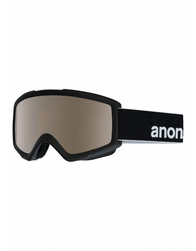 ANON ANON HELIX 2.0 W/SPARE BLACK/SILVER AMBER 18