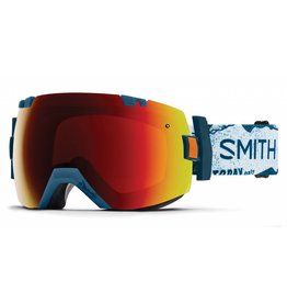 Smith SMITH I/OX  W/ CHROMAPOP SUN RED MIRROR 18