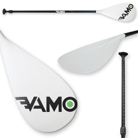 Ocean Lineage Vamo Adjustable Aluminum Paddle - White