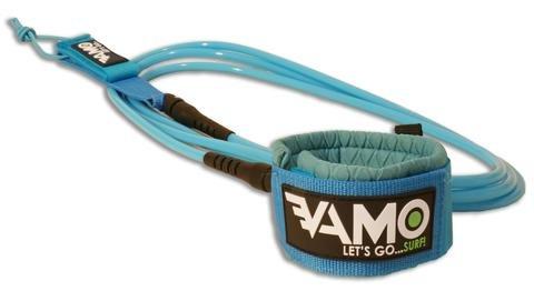 Ocean Lineage Vamo 10' Straight Leash Blue