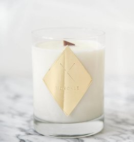 Monokle Brass Red Citrus and Rose Water Candle
