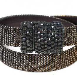 Erin Gray Double Wrap Leather Bracelet