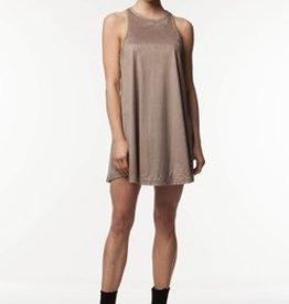 Standard by PPLA Mocha Racerback Knit Dress