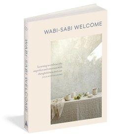 Workman Publishing Wabi-Sabi Welcome Hardcover Book