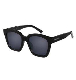 Perverse Sunglasses Black Chunky Square Frame Sunglasses