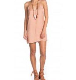 Maac London Nude Sleeveless Slip Dress