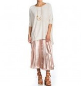 Maac London Ivory Long Cocoon Sweater