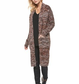 Dex Multi Color Long Cardigan