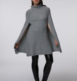 Standard by PPLA Gray Sweater Cape