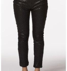 PPLA Black Sequin Legging