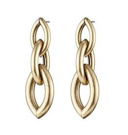 Jenny Bird 14K Gold Dipped Multi Chain Earrings