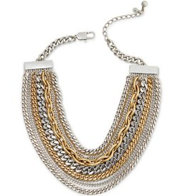 """Jenny Bird 14"""" Mixed Metal Chain Necklace"""