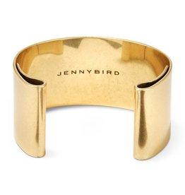 Jenny Bird 14K Gold Dipped Brass Chunky Bangle