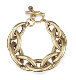 Jenny Bird 14K Gold Dipped Multi Chain Bracelet