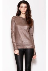 Pink Martini Bronze Knit Sweater